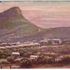 Postkarte Lions Head gelaufen 1904 nach England