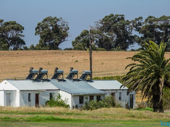 Meerendal Wine Estate near Durbanville - farmworkers homes