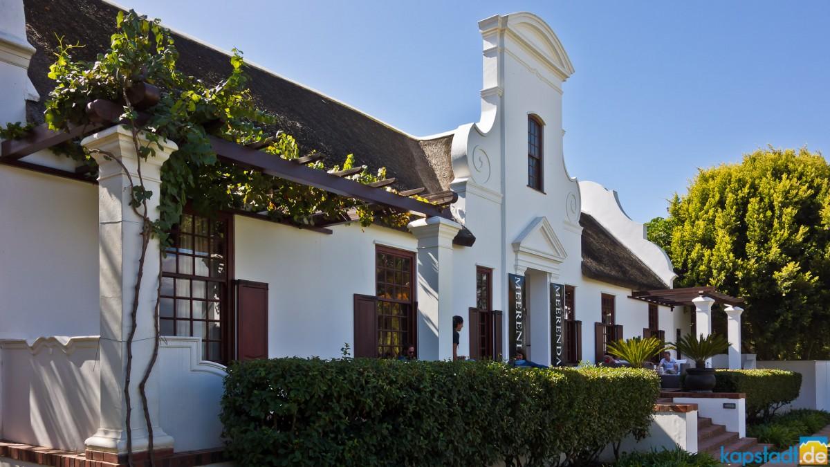 Meerendal Wine Estate main house