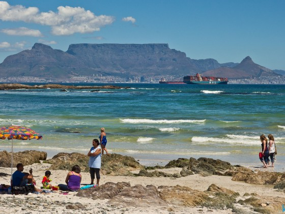 Classic Table Mountain from Blouberrgstrand