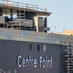 Centre Point Mall in Milnerton before completion