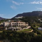 Aerial image from the Constantia Sun guest house in Constantia