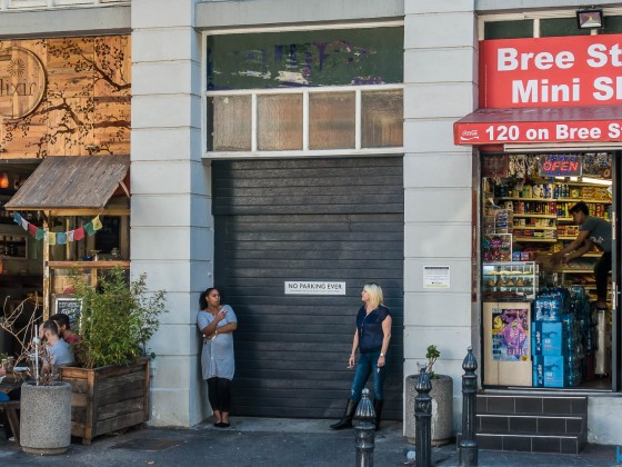 Take Away shop in Bree Street in Cape Town
