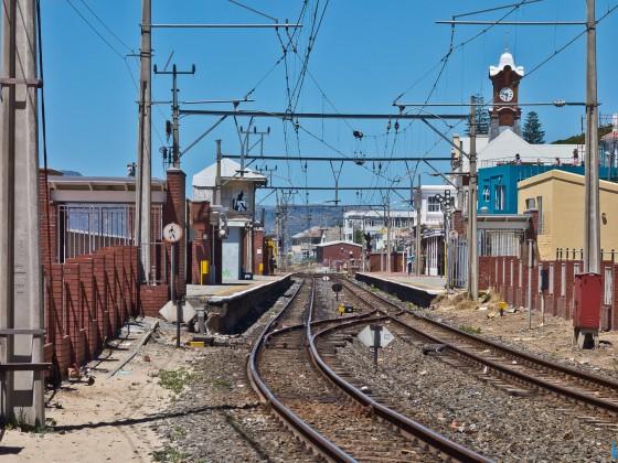 Railway station of Kalk Bay