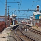 Railway station of Kalk Bay