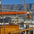 "The sailship ""Europa"" at the V&A Waterfront"