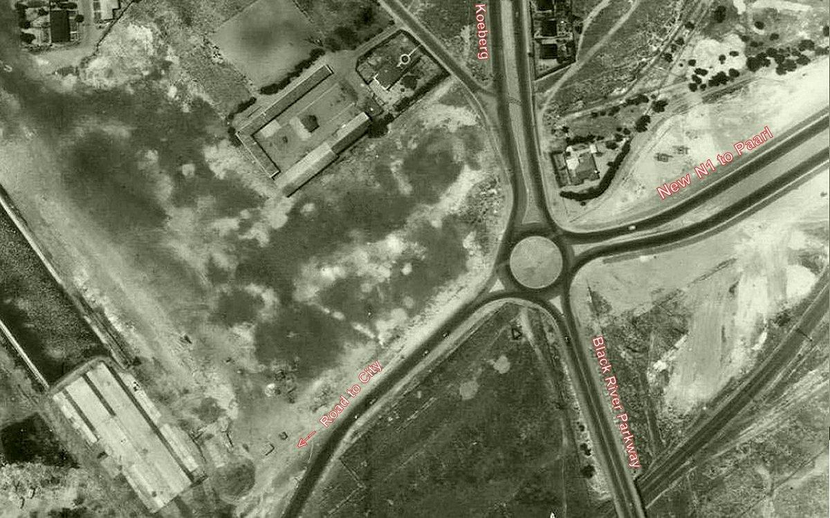Koeberg Interchange circle c1951