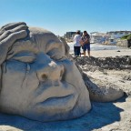 Beach Art at Bloubergstrand