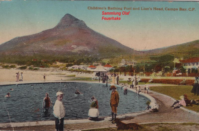 Postkarte Camps Bay um 1900