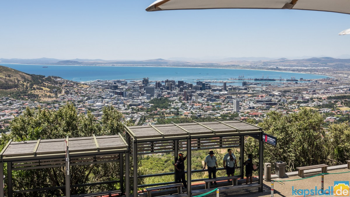 Lower Cable Car station of Table Mountain