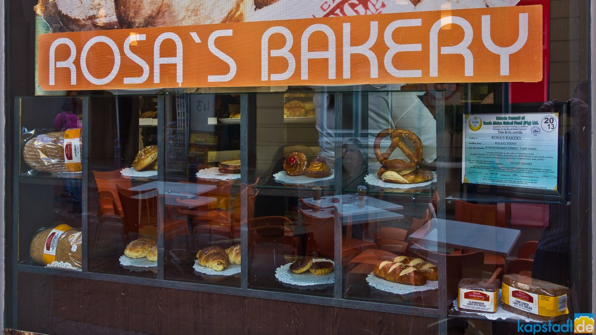 Rosa's Bakery off Loop Street