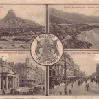 Postkarte Greetings from South Africa 1902 B