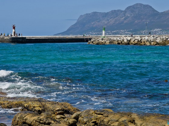 View from the Brass Bell Restaurant and Pub in Kalk Bay