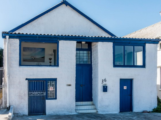 Old fisherhouse at Bloubergstrand