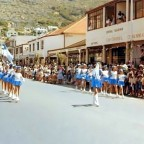 Parade in Fish Hoek circa 1961
