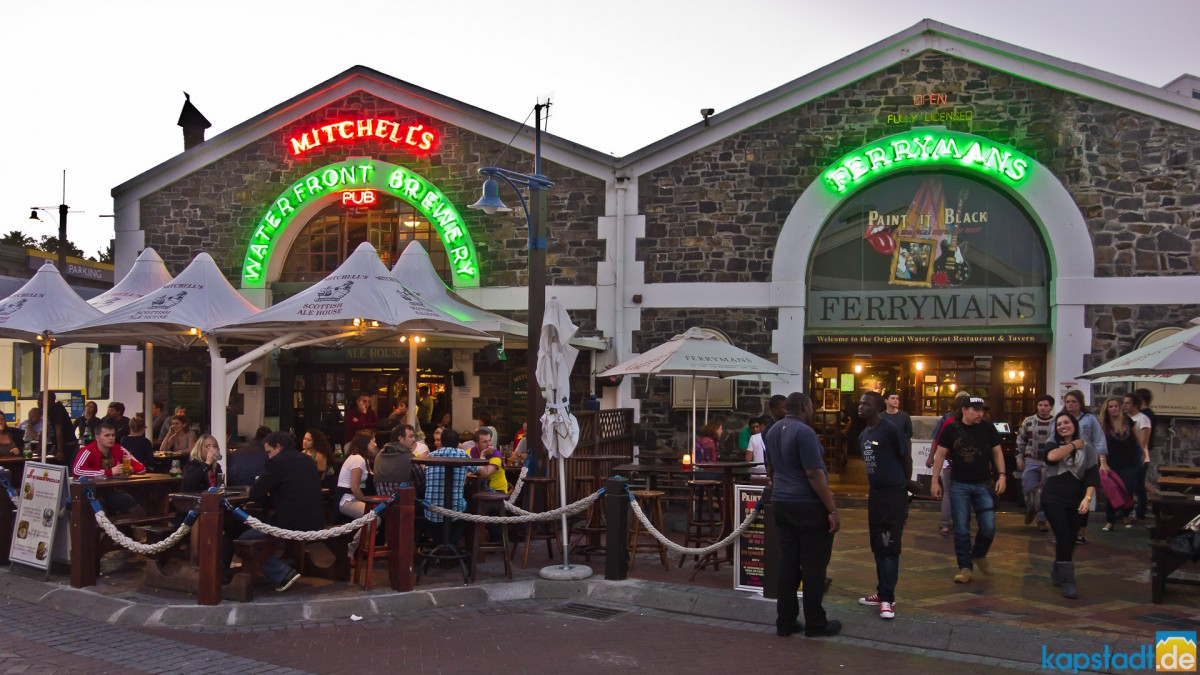 Images from the V&A Waterfront - Mitchell's brewery