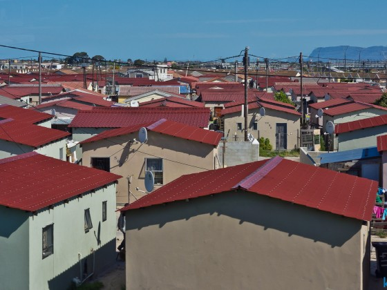 Houses along the N2