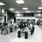Arrivals Hall D F Malan airport, c1982
