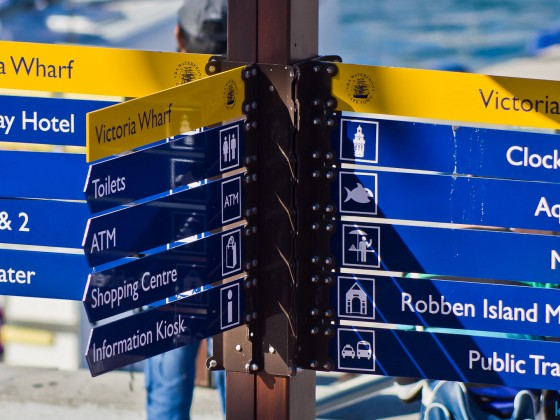 Directions at the V&A Waterfront