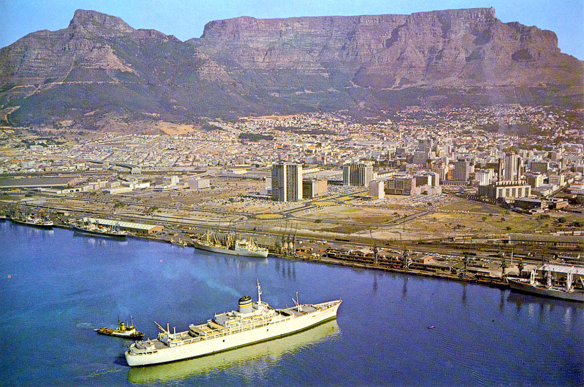 Foreshore in 1967