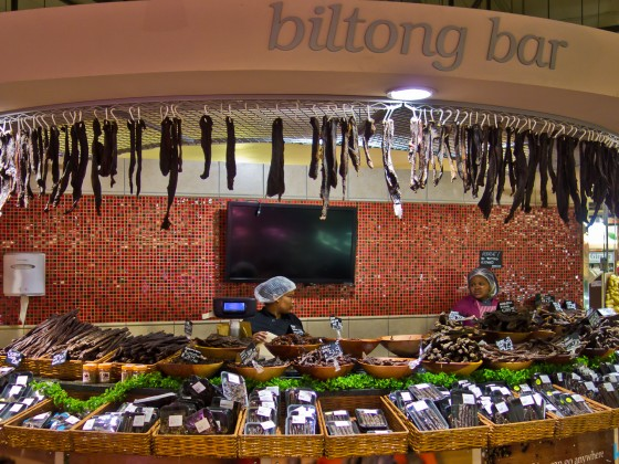 Biltong Bar at Fruit & Veg in Durbanville