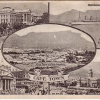 Postkarte Kapstadt 1908