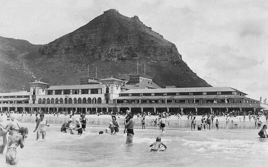 Muizenberg pavilion circa 1958