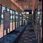 "MyCiti bus stop at ""Woodbridge"" in Milnerton"