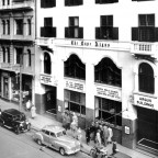 Argus building in St Georges str.1949