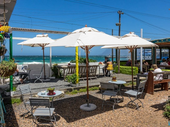 Cafe on the Kalk Bay mainroad