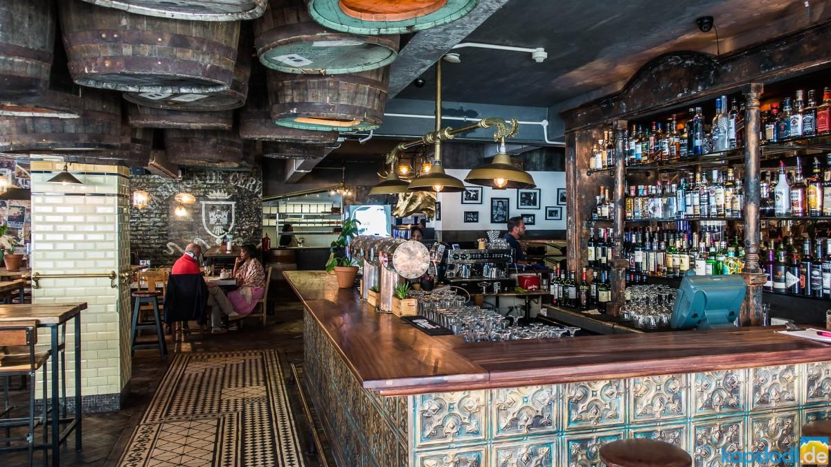 La Parada Restaurant in Bree Street in Cape Town