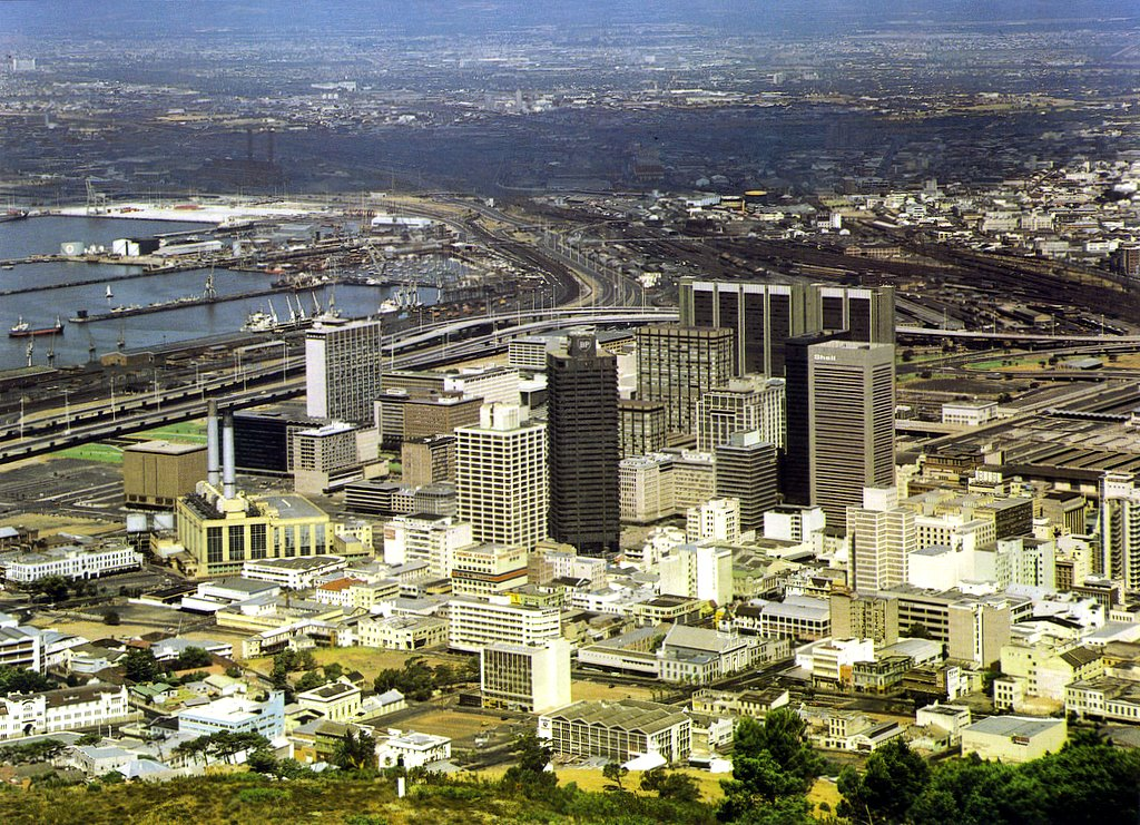 The heart of Cape Town 1980