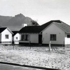 Newly built houses in Pinelands 1958