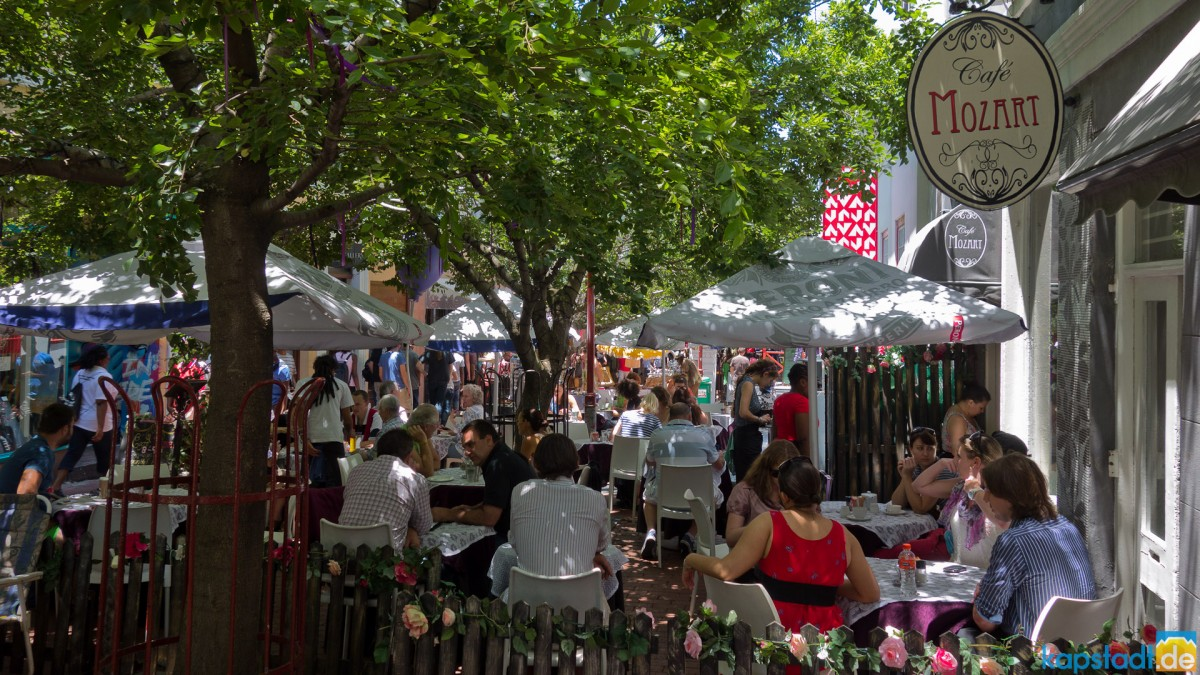 Cafe Mozart near Greenmarket Square