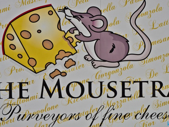 The Mousetrap seen in Kloof Street