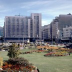Railway station gardens 18 April 1969