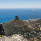 On top of Table Mountain: Lions Head and Signal Hill