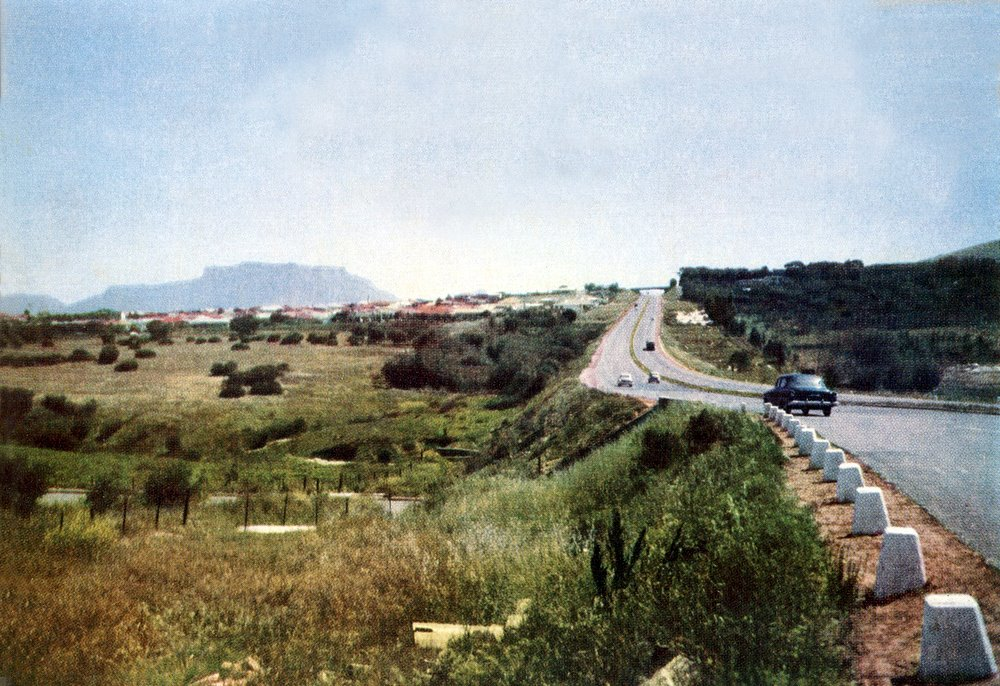 N1 to town 1960