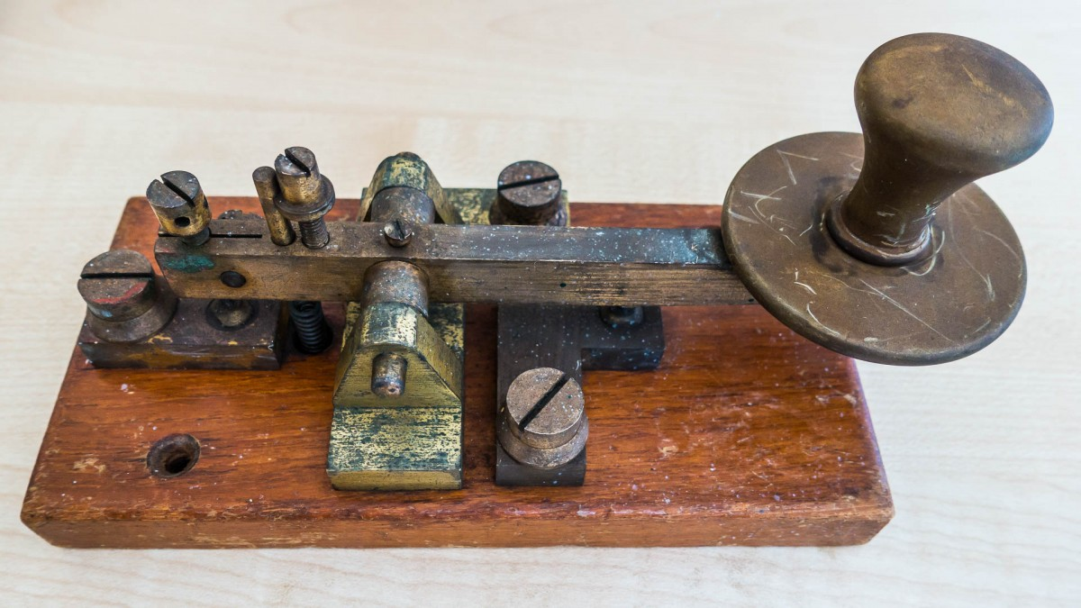 Old morse key found on the Milnerton fleamarket