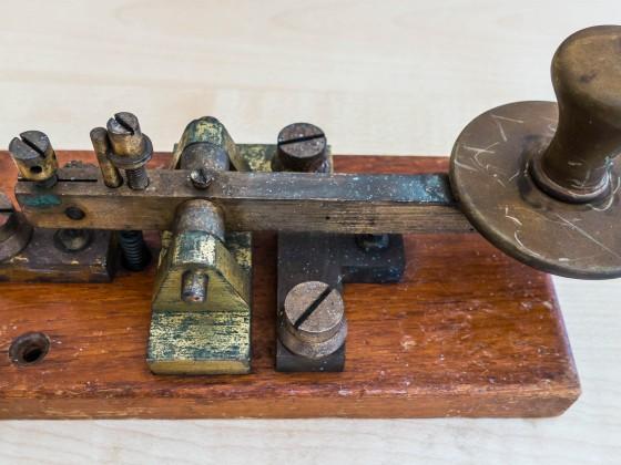Old morse key found on the Milnerton fleamarket