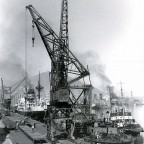 Victoria Docks in the fifties