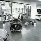 Showroom in Strand street 1963