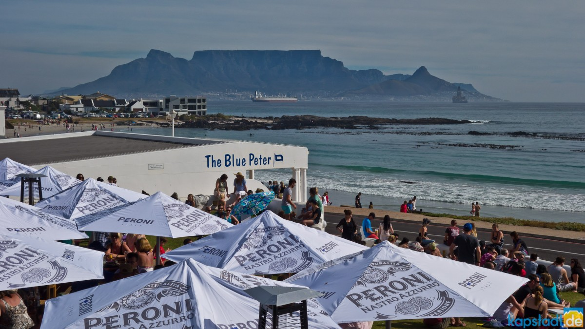 Blue Peter Restaurant at Bloubergstrand
