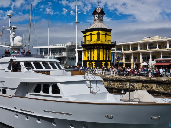 The Clock Tower at the V&A Waterfront