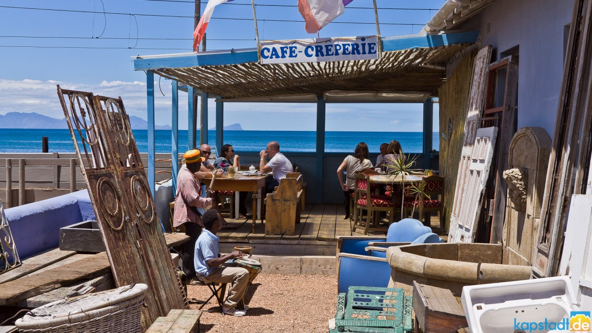 Coffee shop in Kalk Bay