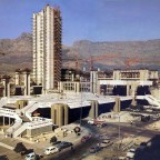 Civic Centre under construction 1975