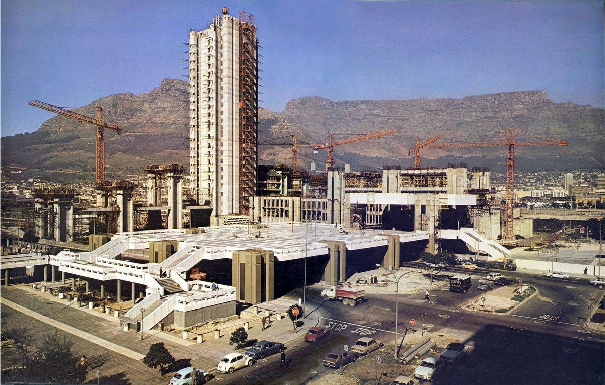 Civic Centre under construction 1975