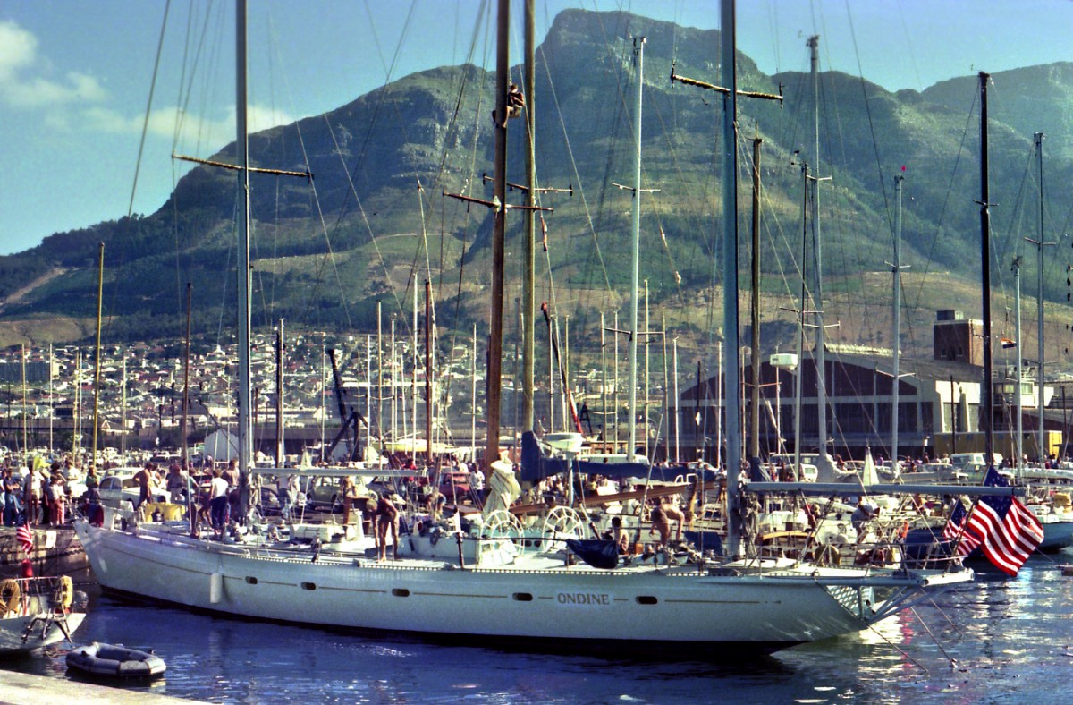 Ondine at the RCYC in 1976