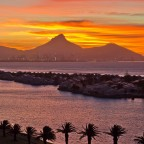 Sunset in Milnerton with Woodbridge Island
