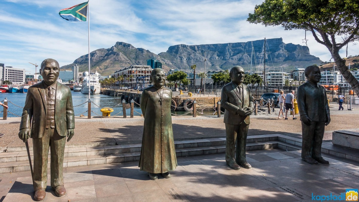 Nobel Square at the V&A Waterfront
